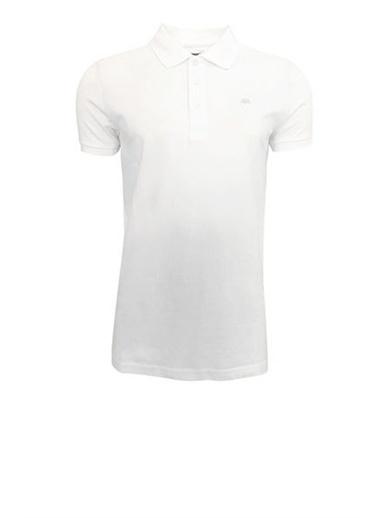 Kappa Kappa Larz Polo Yaka Tişört 1 600E2U0 1 600E2U0015 Beyaz